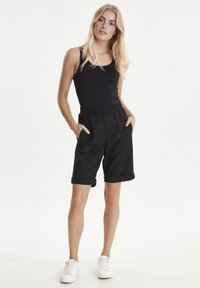 PULZ - PZSAMANTHA - Trousers - black - 1
