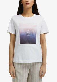 Esprit - Print T-shirt - white - 3