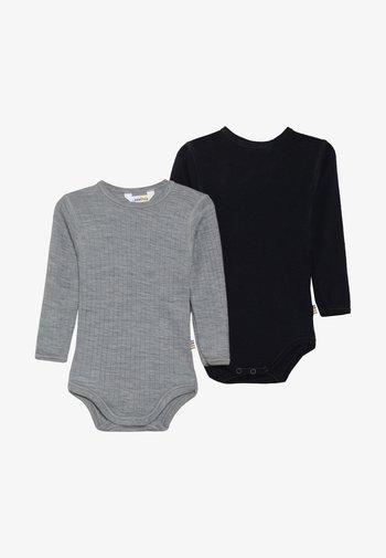 GIRLS 2 PACK - Body - navy/grey melange
