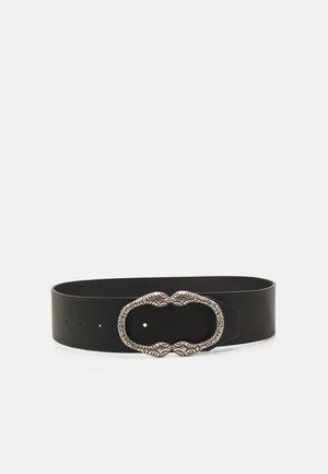NYRANA WAIST BELT - Waist belt - black/silver-coloured
