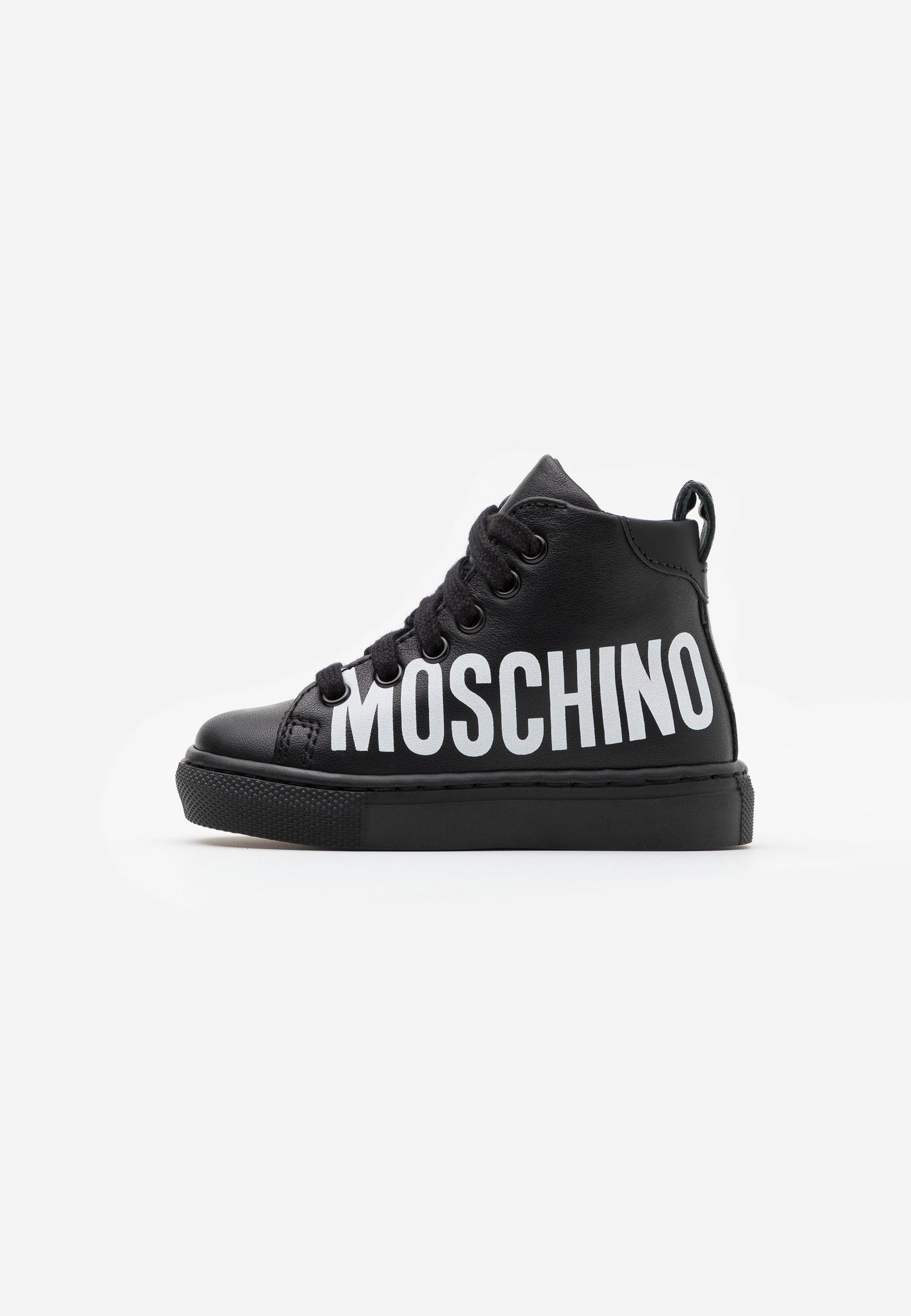 MOSCHINO Sneaker high blackwhite