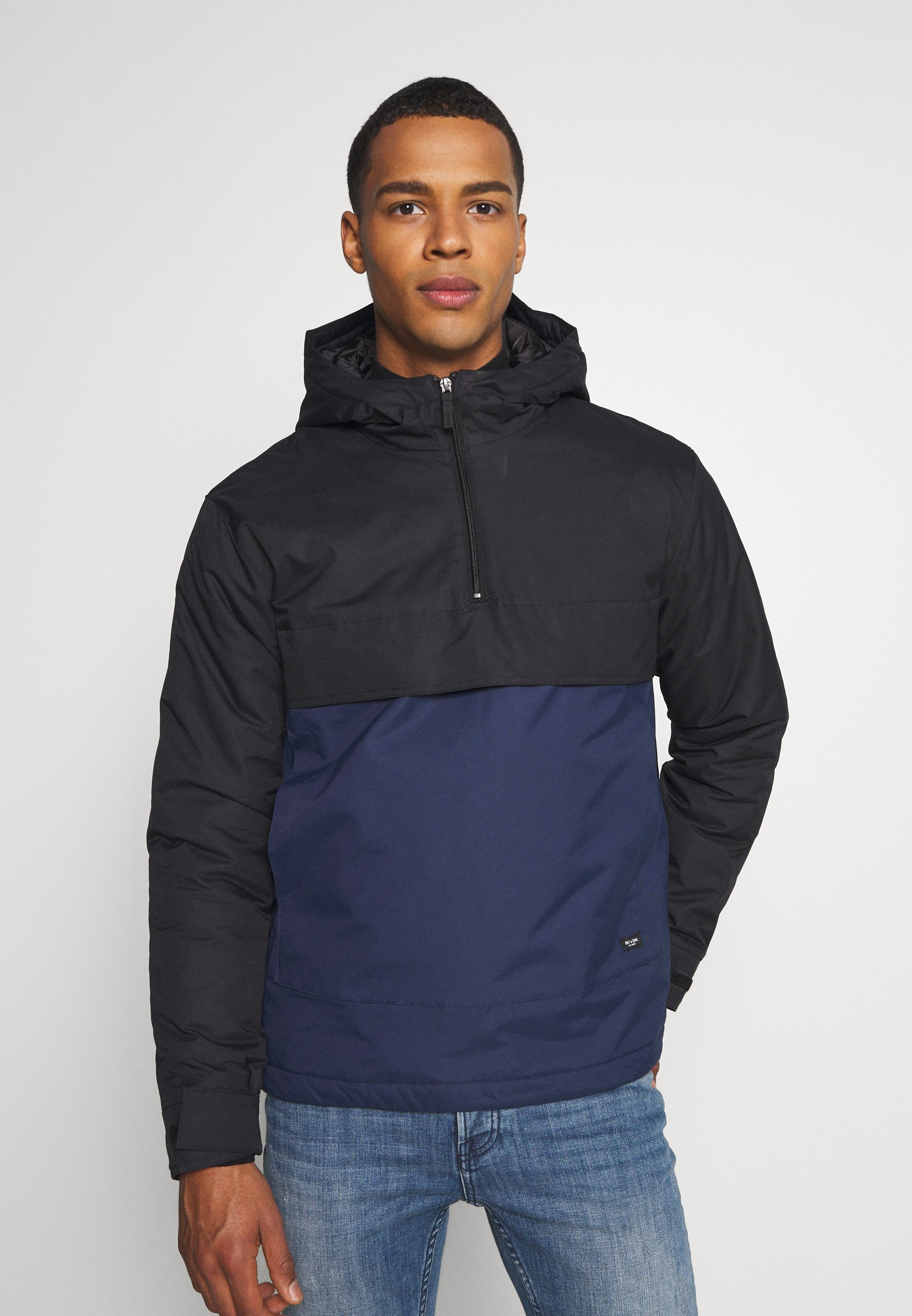 Men ONSTOWN BLOCK ANORAK - Light jacket
