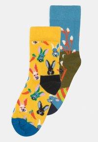 Happy Socks - EASTER SOCKS 2 PACK UNISEX - Socks - multi-coloured - 0