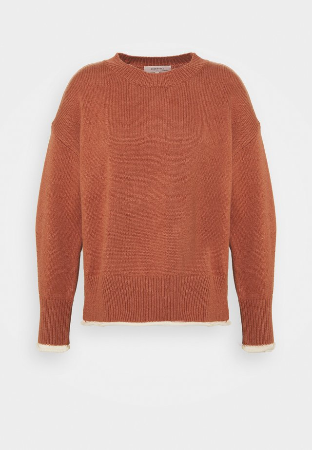 ESSENTIAL BLEND - Pullover - copper brown