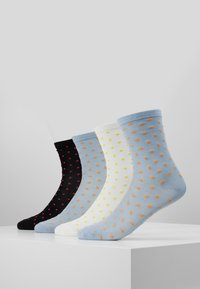 Vero Moda - VMJULIETTE DOT SOCKS 4 PACK - Socks - blue - 0