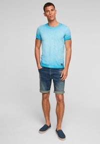 QS by s.Oliver - Basic T-shirt - nautical blue - 1