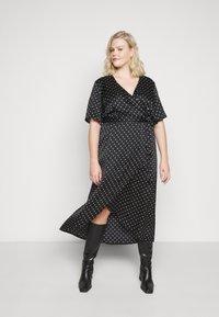 New Look Curves - MARK MAKING - Denní šaty - black - 0
