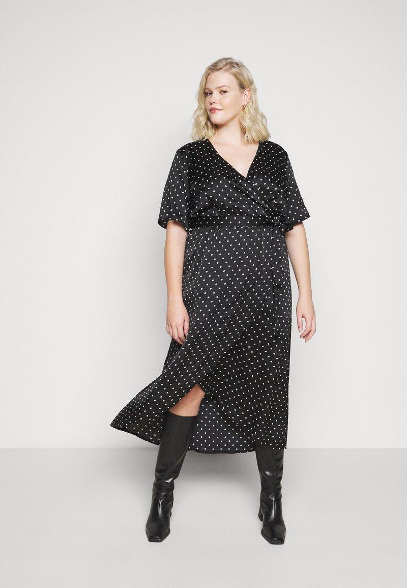 New Look Curves - MARK MAKING - Denní šaty - black