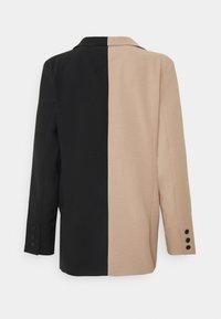 Sixth June - BICOLOR - Blazer - black/beige - 1