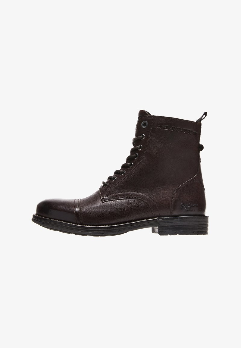 Pepe Jeans - Šněrovací kotníkové boty - marrón oscuro