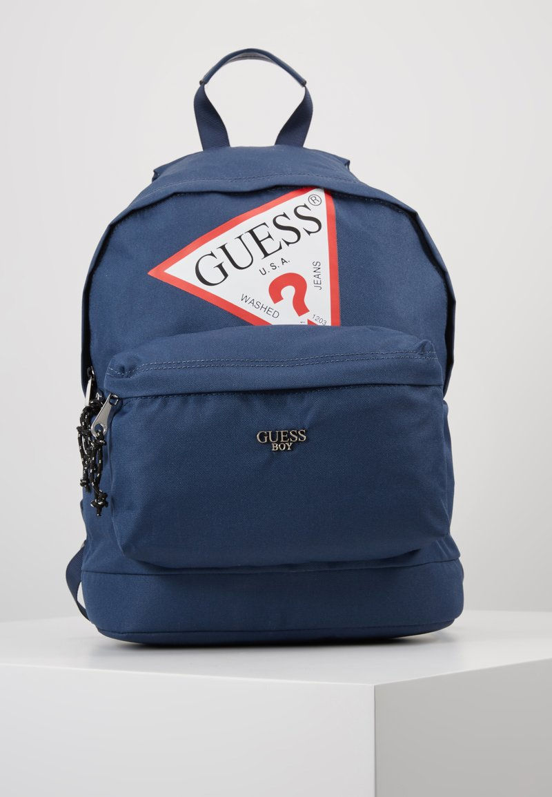 Guess - BACKPACK UNISEX - Rucksack - deck blue