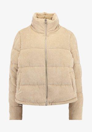 ONLCOLE PADDED JACKET - Zimní bunda - beige