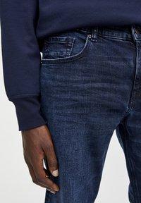PULL&BEAR - Jeans slim fit - dark-blue denim - 3