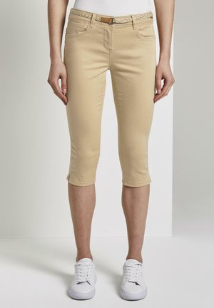 Shorts - cream toffee