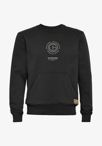 G-Star - MULTI GRAPHIC POCKET - Sweatshirt - dk black - 0