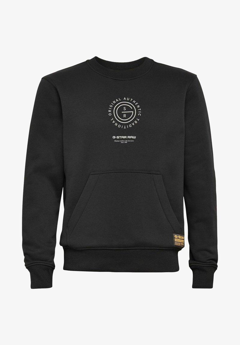 G-Star - MULTI GRAPHIC POCKET - Sweatshirt - dk black