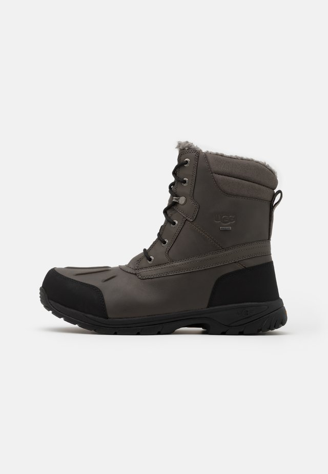 FELTON - Lace-up ankle boots - metal
