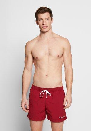 Swimming shorts - dark red