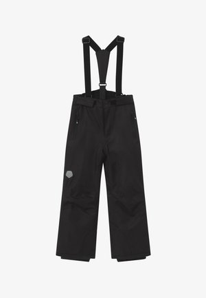 SKI PANTS SLIM - Talvihousut - black