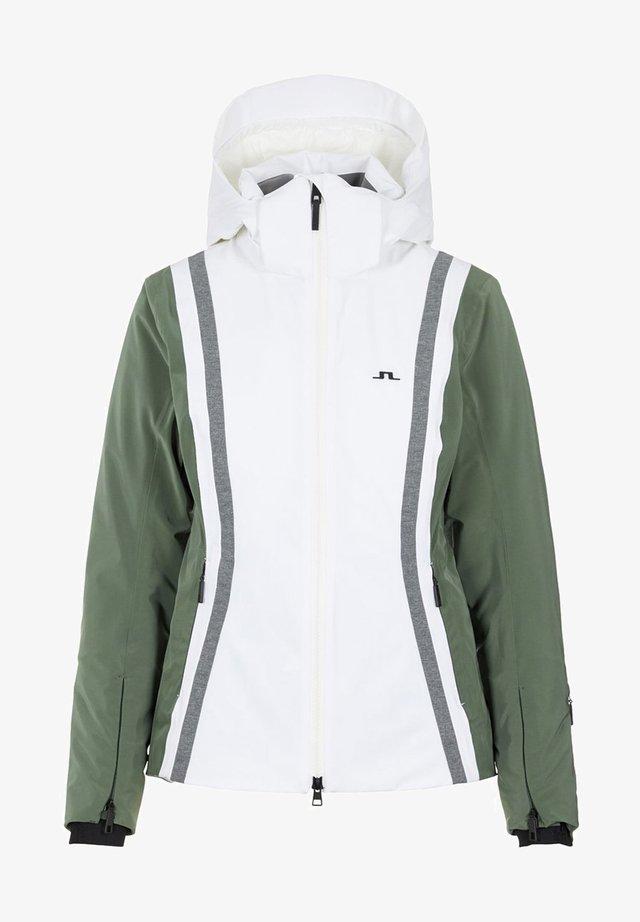 SYLVIA JACKET - Kurtka snowboardowa - thyme green
