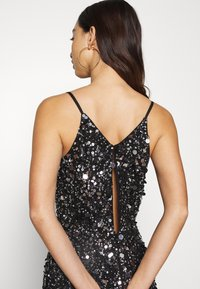 Lace & Beads - LEXI MINI - Etuikjole - black irridescent - 3