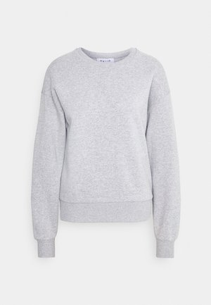 BASIC CREW NECK  - Sweatshirt - grey marl