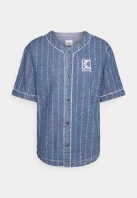 Karl Kani - BASEBALL - Košile - blue - 0