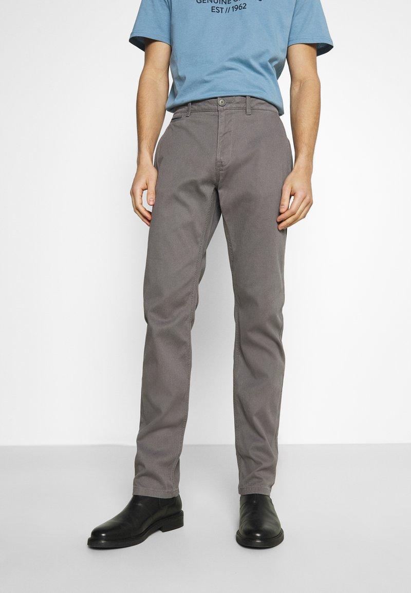 TOM TAILOR - STRUCTURE  - Trousers - castlerock grey