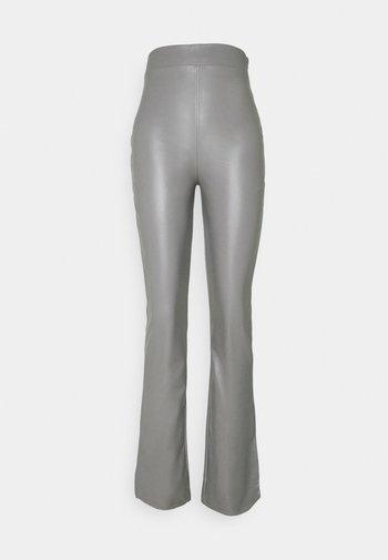 SIDE CUT PANTS - Pantalon classique - gray