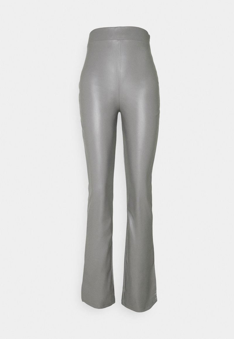 Nly by Nelly - SIDE CUT PANTS - Pantalon classique - gray