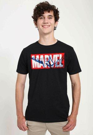 MARVEL UNISEX SPIDER MARVEL - T-shirts print - black