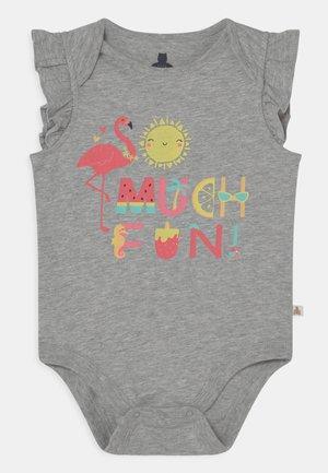 Print T-shirt - light heather grey