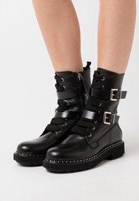 MAX&Co. - MARINAIO - Platform ankle boots - black - 0