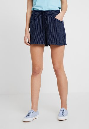 STRIPE PULL ON - Shorts - navy