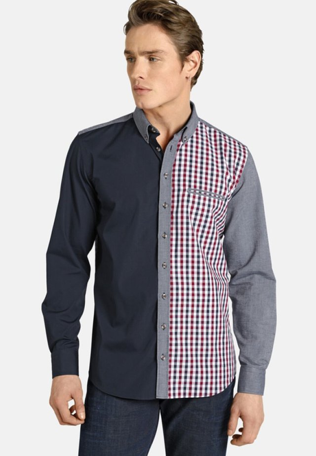 PATCHWORKS - Shirt - blue