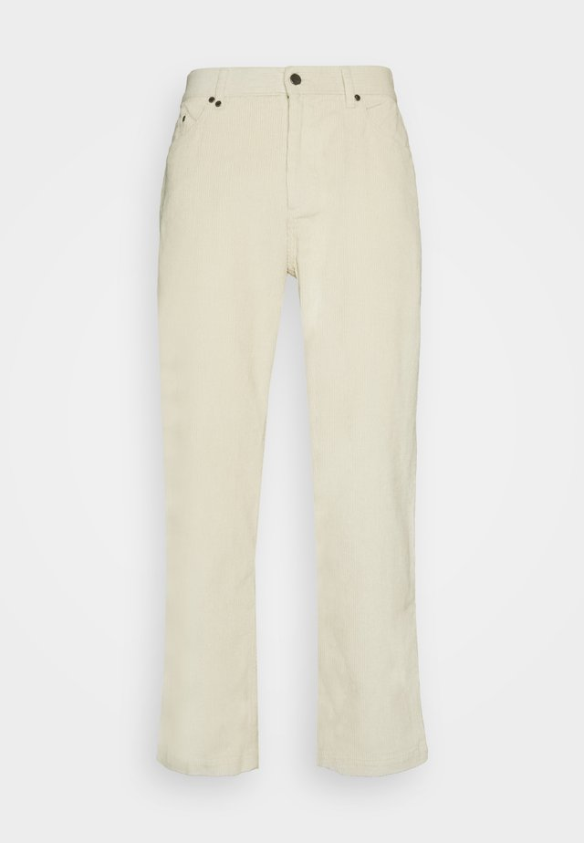 NINETY TWOS RELAXED FIT PANT - Kalhoty - cream