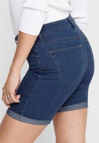 ONLY - ONLSUN ANNE - Denim shorts - medium blue denim - 3