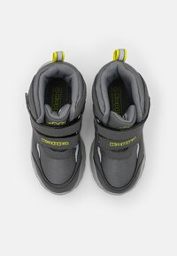 Kappa - SUPERCAL TEX UNISEX - Hiking shoes - grey/lime - 3