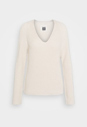 LONG SLEEVE - Strickpullover - natural white