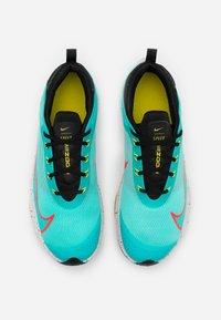 Nike Performance - AIR ZOOM SPEED - Neutral running shoes - aurora green/laser crimson/black/optic yellow - 3