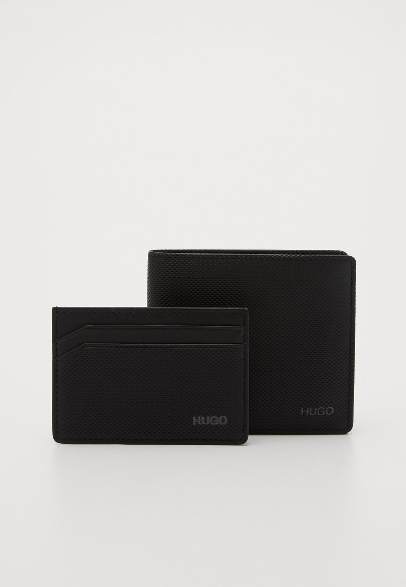 HUGO - SET - Monedero - black