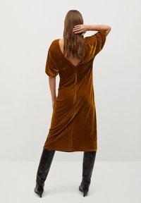 Mango - Denní šaty - mostaza - 1