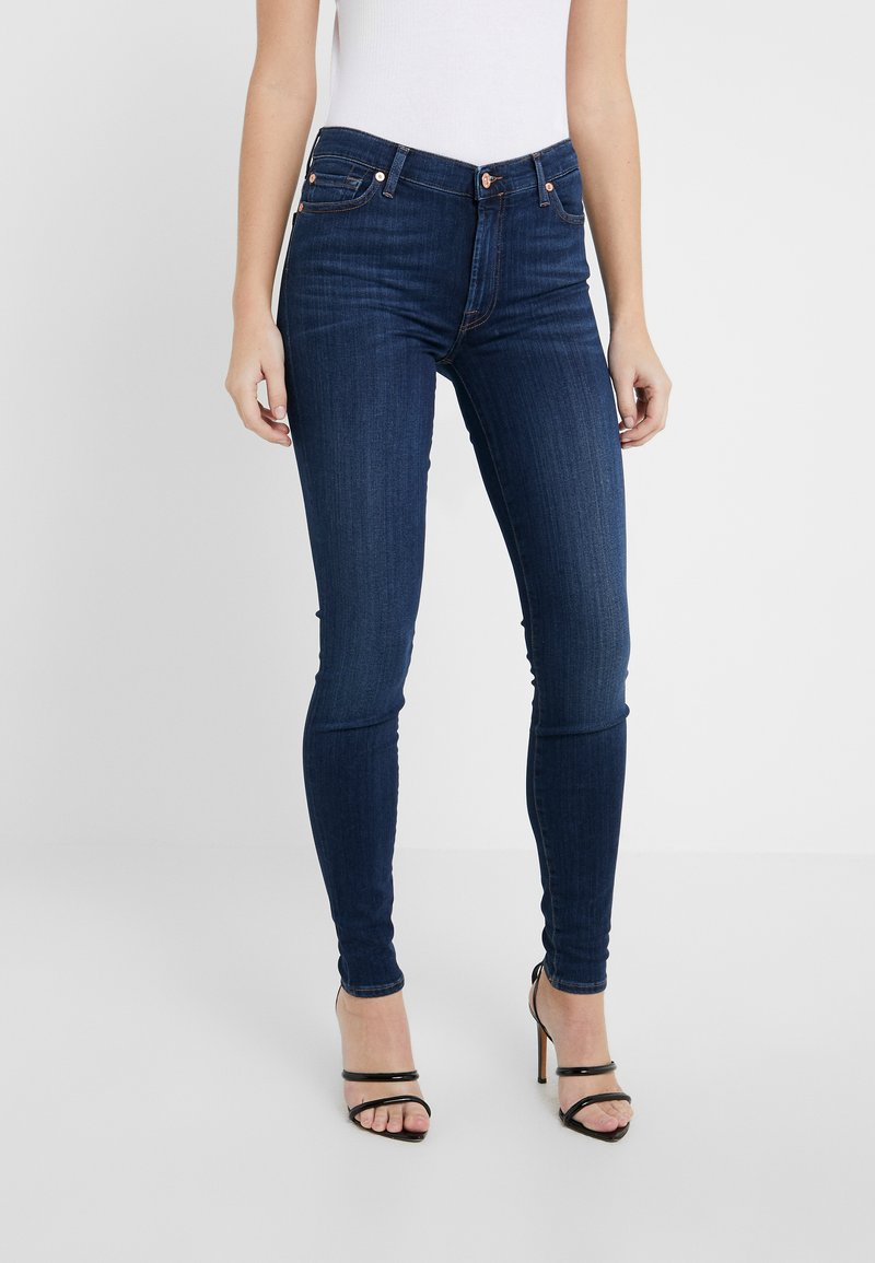 7 for all mankind - ILLUSION LUXE LOVESTORY - Jeans Skinny Fit - mid blue