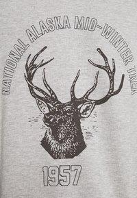 Jaded London - DEER GRAPHIC - Sweatshirt - grey marl - 5