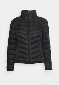 VISIBIRIA NEW SHORT JACKET - Lehká bunda - black