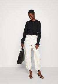 Mos Mosh - MATTIE  - Button-down blouse - black - 1