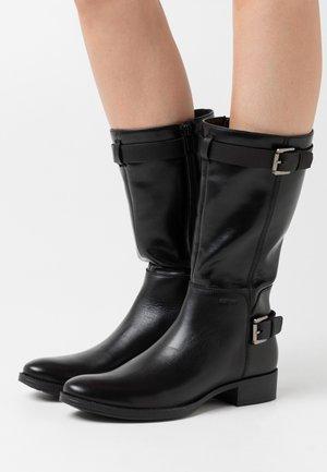 LACEYIN - Kovbojské/motorkářské boty - black