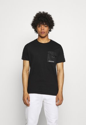 SPITZER - T-shirt med print - jet black