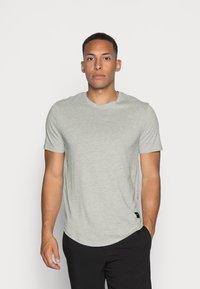 Only & Sons - ONSMATT  5 PACK - T-shirt - bas - black/white/blue - 3