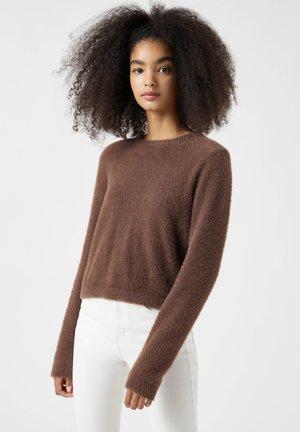 Jumper - dark brown